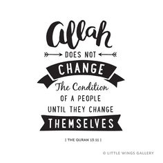 Food for thought. What changes can you make? Muslim Love Quotes, Beautiful Islamic Quotes, Religious Quotes, Calligraphy Quotes, Typography Quotes, Hadith Islam, Islam Muslim, Muslim Women, Quran Quotes Inspirational