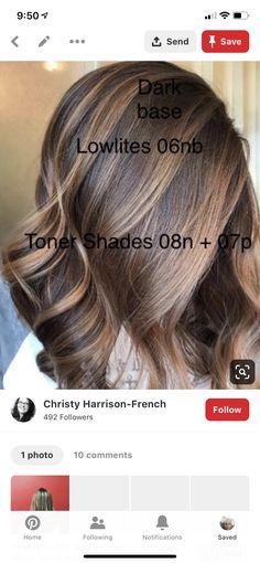 Hair Color And Cut, Haircut And Color, Redken Hair Color, Redken Hair Products, Hair Color Formulas, Balayage Ombré, Hair Color Techniques, Hair Affair, Brunette Hair