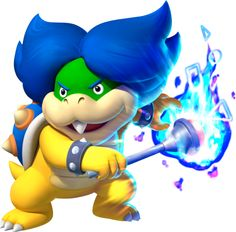 Ludwig von Koopa, one of the Koopalings and also the oldest... and also the one with the nicest hair.