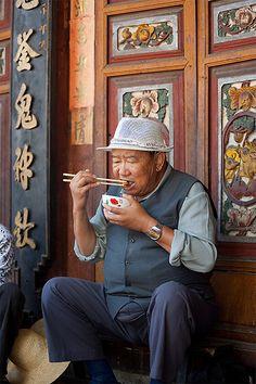 Delicate Dining . Dali, Yunnan, China
