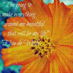 Inspirational Quote Print  Orange Flower by FlourishPhotography, $44.00
