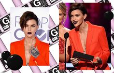01.19.17 // Ruby Rose, let's talk... About Last Night... // Um... one of the most gorgeous women on the planet in one of the most gorgeous (and health conscious) nail colors on the planet, by one of the most gorgeous celebrity nail artists (Steph Stone) on the planet.... yeah, let's talk About Last Night. Ruby Rose wearing NCLA Gelous? in About Last Night... last night at the 2017 People's Choice Awards just made our week - we can all go home now, right? #shopNCLA #NCLA #Gelous #NCLAgels