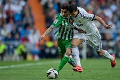 Real Betis sporting director Vlada Stosic has warned Arsenal and Tottenham off his young winger Alvaro Vadillo. Ronaldo, Football, Running, Sports, Zodiac Sign Tattoos, Soccer, Hs Sports, Futbol, American Football