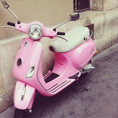 girly stuff pink images, image search, & inspiration to browse every day. Motor Scooters, Vespa Scooters, Pink Vespa, Bmx Bikes For Sale, Best Bmx, Bike Illustration, Girly Car, Pink Images, Old Tires