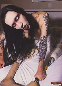 Marilyn Manson--little originality, just a knack for writing catchy songs with disturbing lyrics.