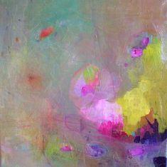 SILK ROAD Abstract 17 Original Abstract Painting on Stretched Canvas12x12