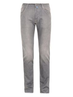 #JacobCohën Comfort slim-leg jeans #MATCHESman