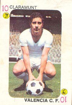 Valencia CF Jose CLARAMUNT Cromos TELE-MOTOR Ediciones Este 1975