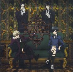 Ciel and Sebastian, or Alois and Claude? From Black Butler