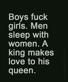Be my king!