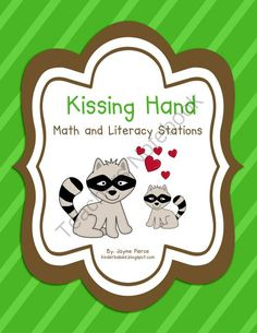 Kissing Hand Stations from Kinderbabies on TeachersNotebook.com (99 pages)