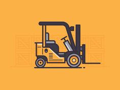 Forklift by Scott Tusk