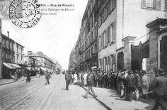 Paris 19e - 110-112 rue de Flandre - La manufacture de Piano Erard.