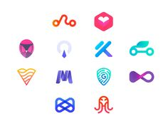 My Latest Logo Collection - Marks for mobile apps designed by Ionuţ Comănici . Connect with them on Dribbble; the global community for designers and creative professionals. Web Design Icon, App Design, Logo Design, Perfect Image, Perfect Photo, Love Photos, Cool Pictures, App Logo, Icon Collection