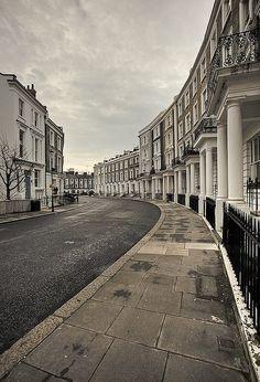 Notting Hill Gate, London England, Reino Unido