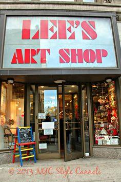Lees art shop 57th street