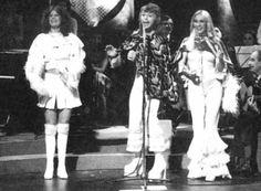 Anni-Frid Lyngstad, Björn Ulvaeus and Agnetha Fältskog ABBA