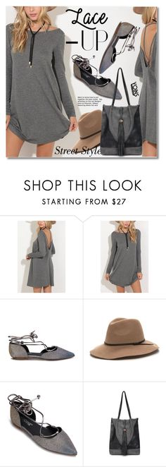 """""""Lace It Up"""" by svijetlana ❤ liked on Polyvore featuring laceup, yoins, yoinscollection and loveyoins"""