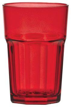 Dieses Trinkglas aus dem Hause NOVEL besticht durch hohe Qualität und geschmackvolles Design. Das Glas besteht aus transparentem Glas und überzeugt durch eine trendige Form. Dabei präsentiert sich das Trinkglas in charmantem Rot und besitzt ein Fassungsvermögen von ca. 360 ml. Aus diesem hochwertigen Glas trinken Sie gerne!