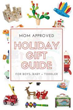 Holiday Gift Guide for Boys: Baby + Toddler — Lilies And Lambs Baby Boy Gifts, Toddler Gifts, Gifts For Kids, Halloween Crafts, Holiday Crafts, Christmas Crafts, Christmas Activities, Lambs, Holiday Gift Guide