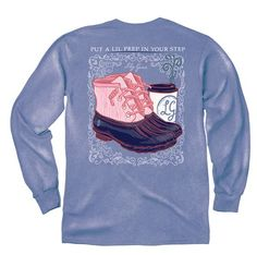 Lily Grace Long Sleeve Tee- Prep in Your Step from Shop Southern Roots TX