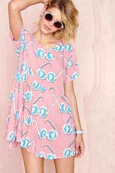 Lazy Oaf Sunglasses Dress | Shop Clothes at Nasty Gal