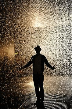 Mystical Indoor Rain Room Where Visitors Don't Get Wet - My Modern Metropolis