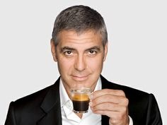 Coffee with George Clooney each morning (lol)
