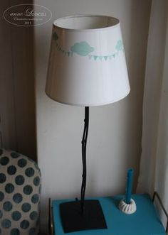 Lampshade Washi Tape art idea