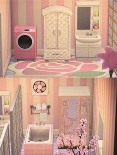 Animal Crossing Funny, Animal Crossing Wild World, Animal Crossing Guide, Pink Animals, Cute Animals, Pink Island, Ac New Leaf, Happy Home Designer, Motifs Animal