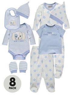 Ladybird Baby Boys Clothing Set (8 Piece)