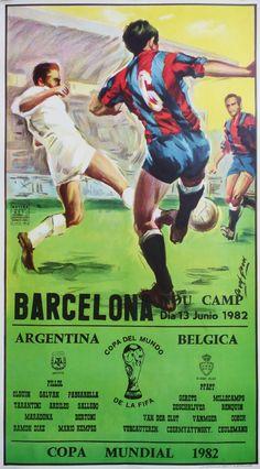 1982 World Cup Football/Soccer Argentina  by OutofCopenhagen