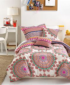 Bed & Bath - Teen Bedding | Macy's  Bohemia 5 Piece Comfortor set