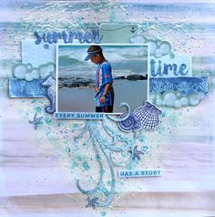 beach layout by Cathy Cafun