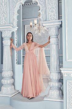 Indian Dresses, Indian Outfits, Indian Attire, Indian Wear, Designer Anarkali, Lakme Fashion Week, Sharara, Sheer Fabrics, Indian Designer Wear