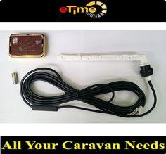 Hume water level indicator and gauge burgundy gold trim caravan motorhome in Vehicle Parts & Accessories, Caravan Parts, Accessories   eBay