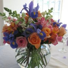 If  Jen's wedding wasn't out of state, I would totally do her table arrangements but doubt I'd save $$.   Easter 2011.