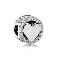 charm pandora amor maravilloso rosa 792034cz
