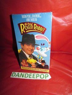 Who Framed Roger Rabbit 1997 New Sealed VHS Movie #WhoFramedRogerRabbit #Find me at dandeepop.com