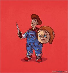 Chucky Unmasked by Alex Solis