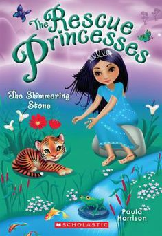 The Shimmering Stone - Paula Harrison  For those of you who have read your way through our chapter book shelf, here is a new series about princesses. But these are no ordinary princesses--they're Rescue Princesses and they use their wits and daring ninja skills to create a rescue organization that helps animals in trouble! (Grade 1 to Grade 3) 2/2014