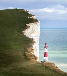 Beachy Head Lighthouse East Sussex, England | by philip hartland