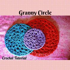 I will be showing you how to crochet a Granny Circle in this step by step…