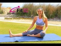 ▶ 40 Minute Full Body Pilates Exercise Fitball Workout - YouTube