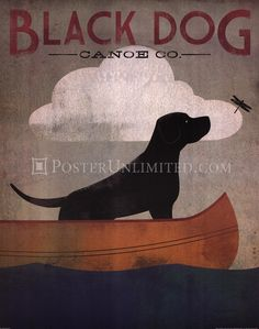 Poster Art:  Black Dog Canon Co. by Ryan Fowler