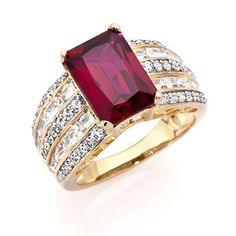 Victoria Wieck 5.96ct Absolute™ Created Ruby Ring