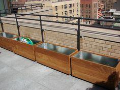 terrace  garden foundation