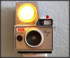 I want every one of these vintage camera-inspired nightlights.