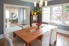 Contemporary | Transitional | Formal Dining Room | Design by Vanillawood