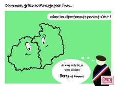 Un clin d'oeil humoristique à l'actualité #mariagepourtous #berry